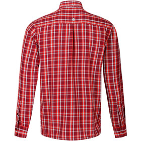 Regatta Mindano III Camiseta Manga Larga Hombre, rojo